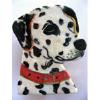 porcelain dog pin dalmatian